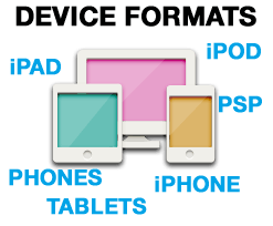 device formats