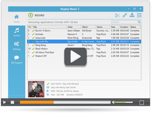 Audio Recorder for Music and MP3 | Replay Music