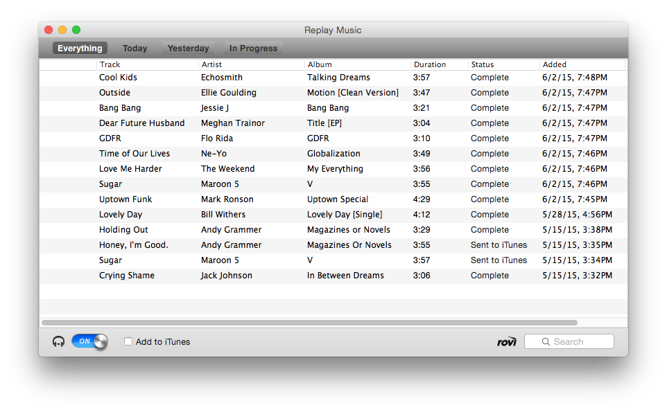 Replay Music for Mac