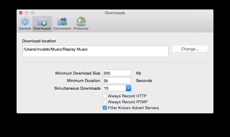 Replay Music for Mac User Guide