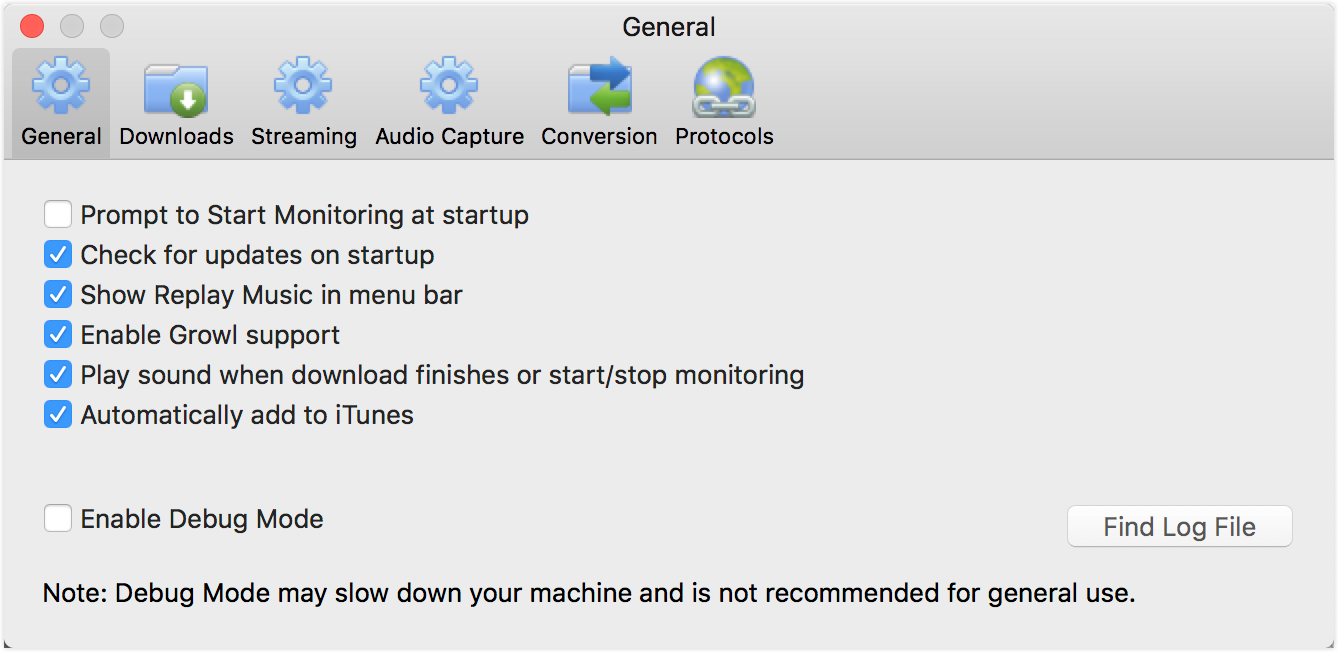 Replay Music for Mac ver 2 User Guide : Applian Technologies Support