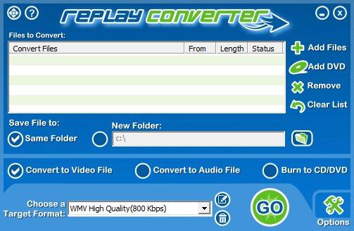 applian replay converter