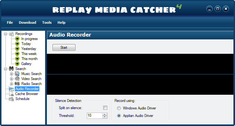 Replay Media Catcher 4