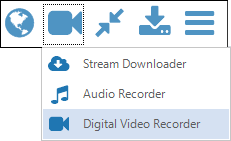 Capture Method Digital Video Recorder selected