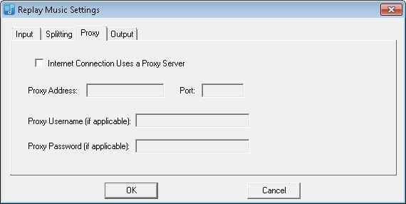settings proxy tab