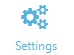 Settings tab: