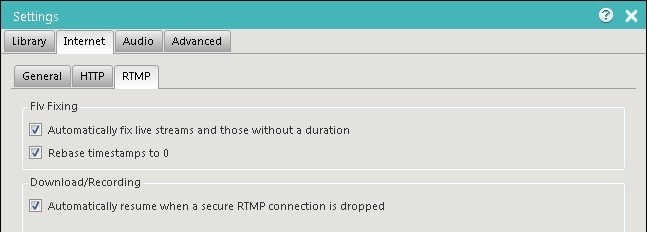 Replay Radio 9 RTMP Settings