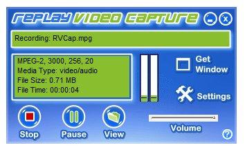 Screenshot: Replay Video Capture