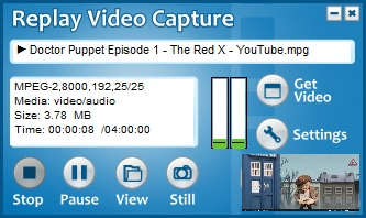 Replay Video Capture Active Recording