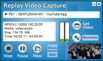 Replay Video Capture Background Recording